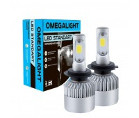 Головной свет LED Omegalight Standart H4 2400lm