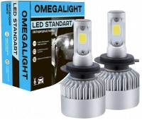 Головной свет LED Omegalight Standart 3000K H3 2400lm