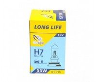 Галогеновая лампа Clearlight H7  12V-55W LongLife